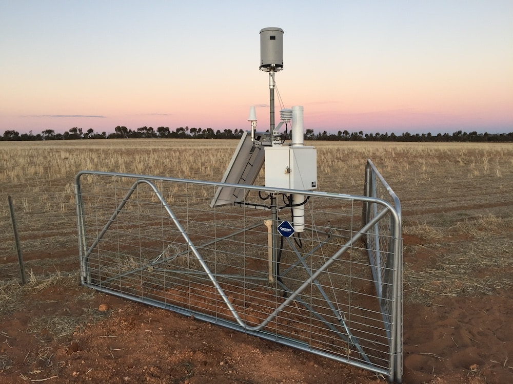 Need soil moisture data? Try a cosmic ray soil moisture sensor